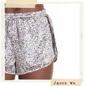 🌸NEW🌸 Jason Wu Grey Satin Runner Pajama Pants